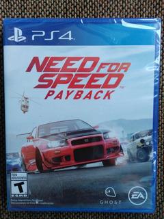 Need For Speed Payback En Español Juego Ps4 Nuevo Y Sellado