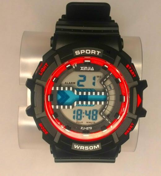 Relógio Digital Xinjia Xj 879 (original) A Prova D