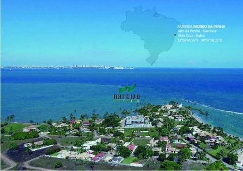 Fazenda À Venda, 320000 M² Por R$ 4.200.000,00 - Loteamento Canto Da Ilha - Itaparica/ba - Fa0027