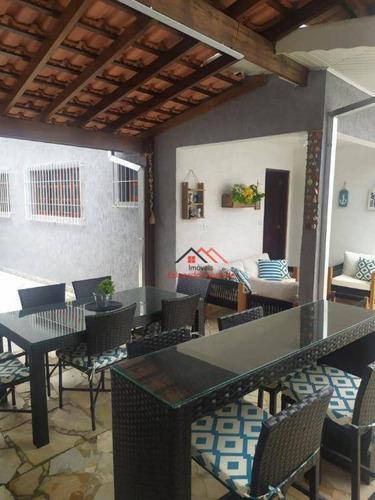 Imagem 1 de 30 de Casa Com 3 Dormitórios À Venda, 212 M² Por R$ 820.000,00 - Sumaré - Caraguatatuba/sp - Ca0250