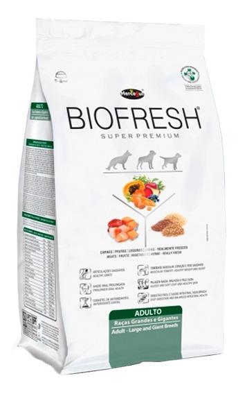 Ração Biofresh Cães Adultos Raças Grandes E Gigantes 12kg