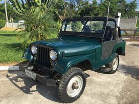 Jeep Willys 6cc 4x4 1966