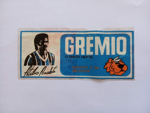 Adesivo Atílio Ancheta Grêmio Início Anos 70 - A Base D'água