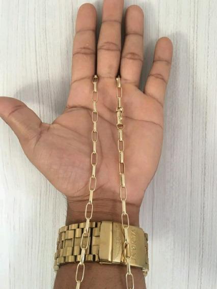 Corrente Feita A Mão(moeda Antiga) 60cm M3