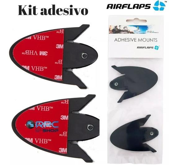 Kit Adesivo Sistema Airflaps Óculos Capacete Motocross