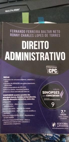 Direito Administrativo Sinopses Para Concursos Ano 2017