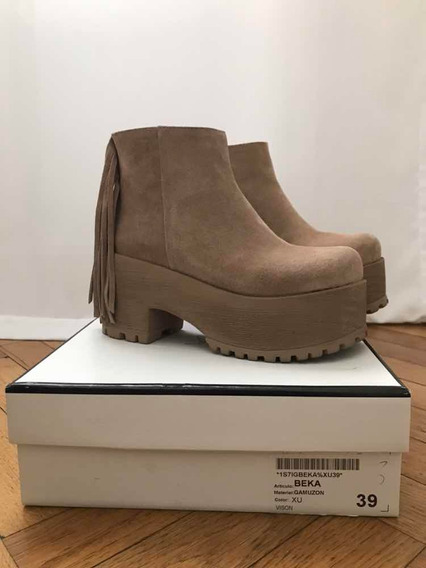 Botas Sarkany Camel - Talle 39 - Impecables