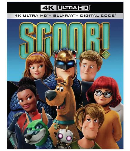 Imagen 1 de 2 de 4k Ultra Hd + Blu-ray Scoob ! / Scooby ! (2020)