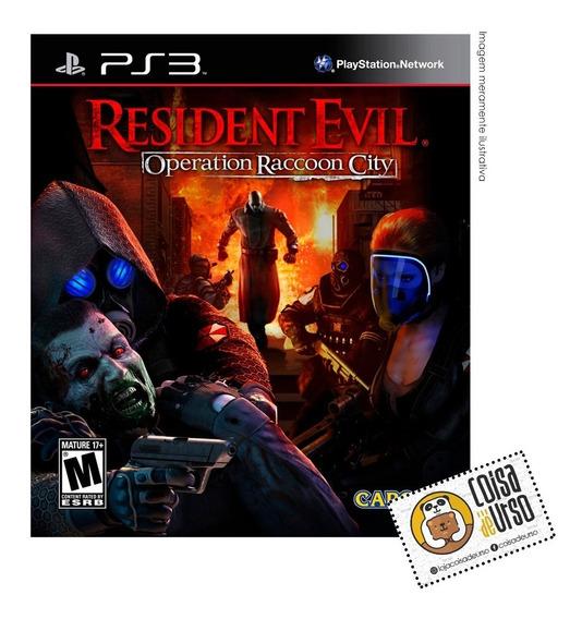 Resident Evil Operation Raccoon City Ps3 (mídia Física)