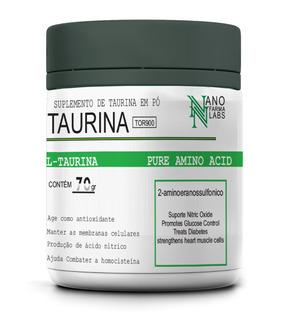 Taurina Tor900 70g Composto - Nano Farma Labs