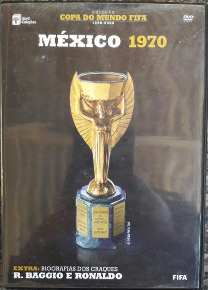 Dvd Coleção - Copa Do Mundo - Mexico 1970 - Com Dossiê