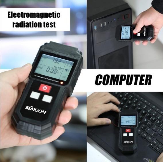 Tester Dosimeter Detector Radiação Campo Magnético Elétrico