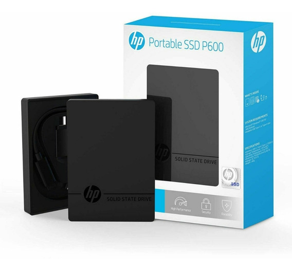Hd Portatil Hp Ssd P600 500gb Curitiaba Nf