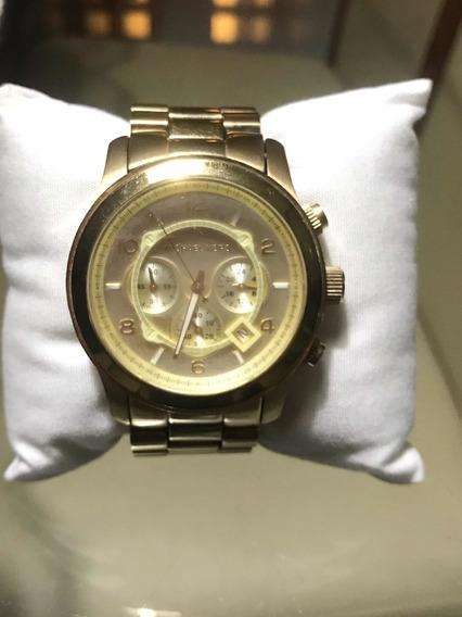 Relógio Michael Kors Dourado 8077