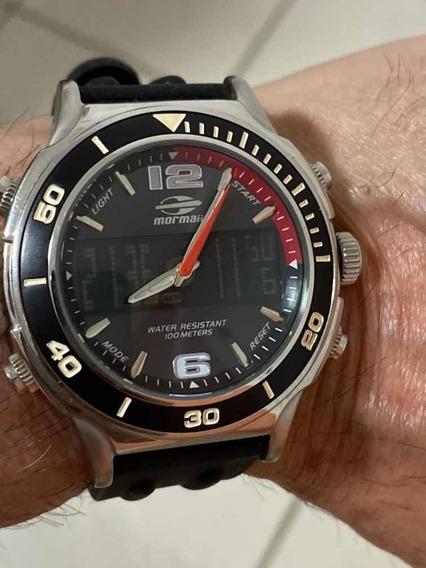 Relógio Mormaii Peça De Colecionador Sem Caixa Sem Manual