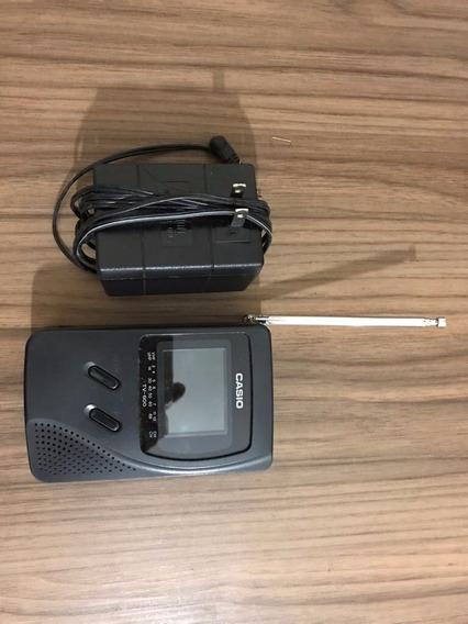 Mini Tv Portátil Casio Tv-600g Lcd