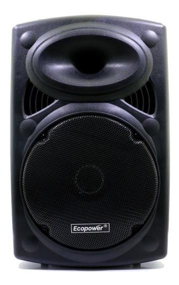 Caixa Amplificada Ecopower Ep-1904 -12 Pol - Bluet -usb-mic