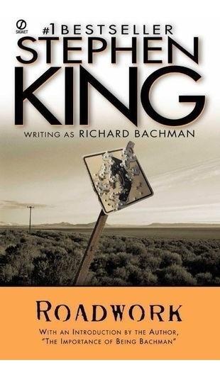 Livro Roadwork - Pocket Book Stephen King