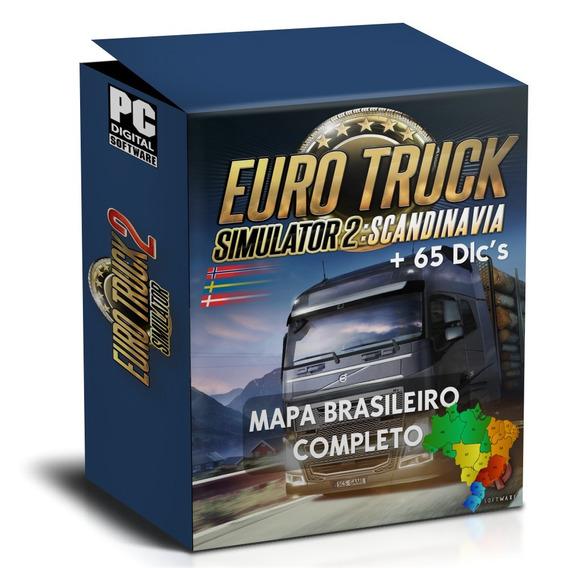 Euro Truck Simulator 2 Todas Dlc Original - Games no Mercado