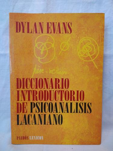 Diccionario Introductorio De Psicoanálisis Lacaniano - Evans