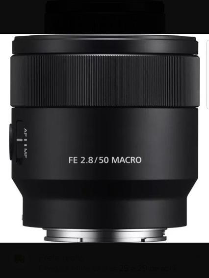 Sony 50mm 2.8 Macro