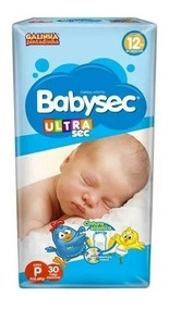 Kit 4 Fraldas Babysec Ultrasec Atacado Revenda Barato P