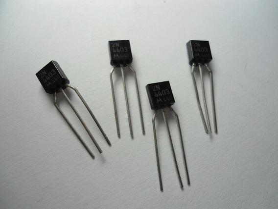 Transistor/ 2n4403 - Embalagem Com 4 Unidades