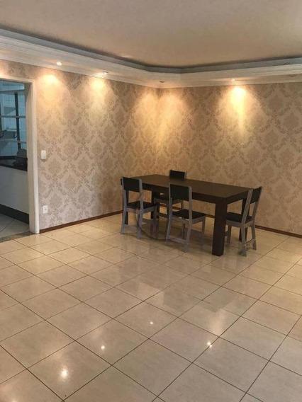 Apartamento Com 3 Dormitórios Para Alugar, 141 M² Por R$ 2.800/mês - Vila Assunção - Santo André/sp - Ap9213