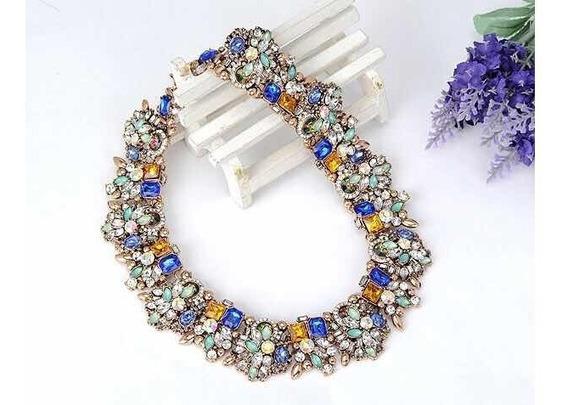 Maxi Collar Con Pedrería ( Envío Gratis )