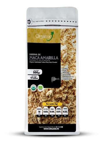 Harina De Maca Amarilla Orgánica Gelatinizada 500g
