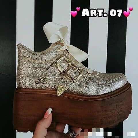 Zapatos C/hebillas Sneakers Urbanas Mujer Moda 2018 07