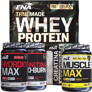 Combo Crecimiento Musculos Marcados Creatina + Proteina Whey