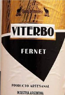 Fernet Viterbo Artesanal 750 Cm3 Envíos A Todo El País