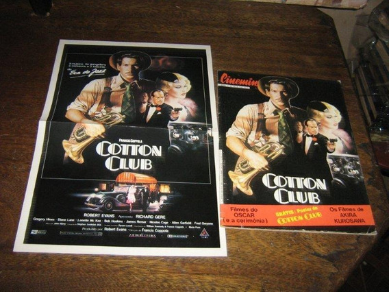 Cinemin Nº 22 Com Poster Cotton Club Ebal