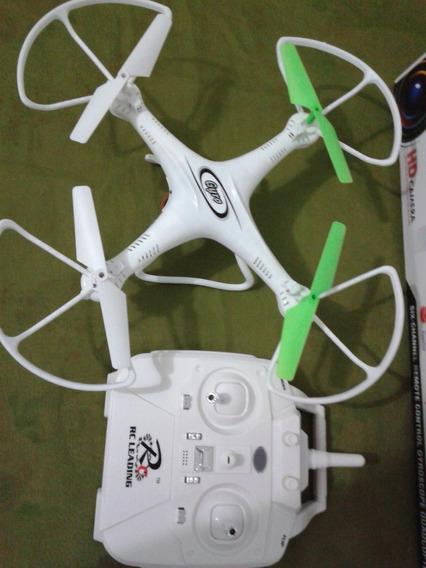 Quadricoptero Drone Camera Wifi 12x Sem Juro Tempo Real X5c