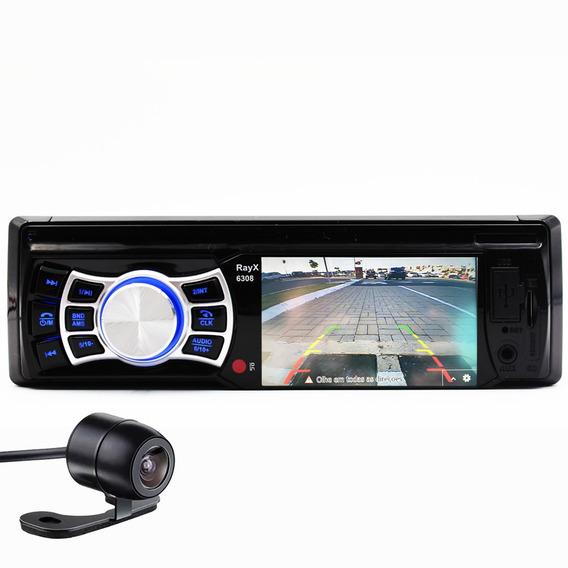 Multimídia 30a Mp5 Bluetooth Tela 3 Usb Camera Colorida