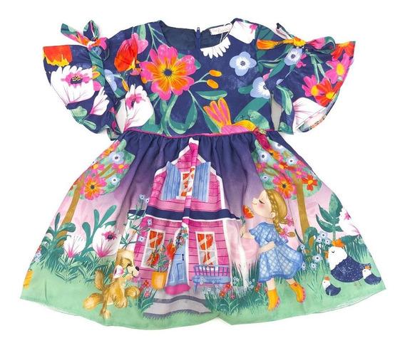 Vestido Estampado Floral Camponesa Mon Sucré