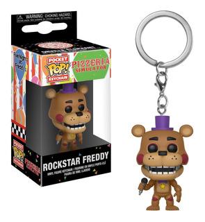 Funko Pop Keychain Rockstar Freddy - Minijuegos