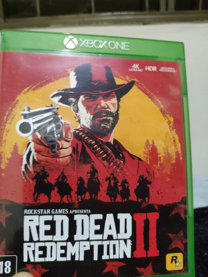 Red Dead Redemption 2 Xbox One (mídia Física)