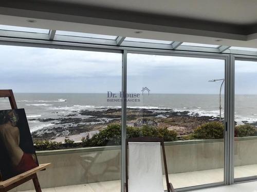 Excepcional Apartamento Duplex Sobre El Mar, 4 Suites, Gran Barbacoa- Ref: 354