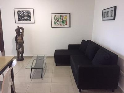 Apartamento Amueblado En Santo Domingo Frente Al Malecon