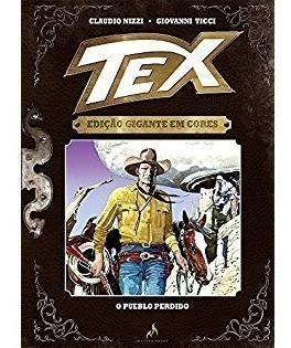 Hq - Tex Edição Gigante Em Cores Nº7 O Pueblo Perdido