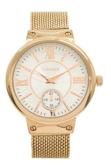 Reloj Thinner 16378 Cobre