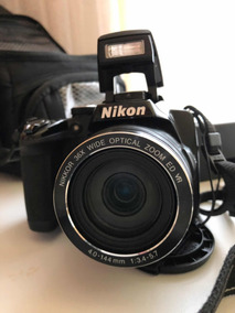 Câmera Semi Profissional P500 Nikon