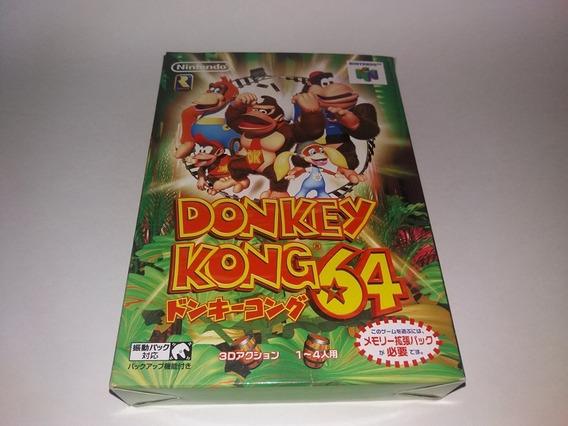 Donkey Kong Original Completo Para Nintendo 64 N64