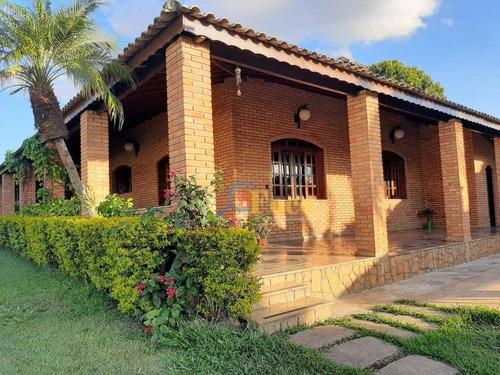 Chácara Com 3 Dormitórios À Venda, 1280 M² Por R$ 1.200.000,00 - Vila Aparecida - Jundiaí/sp - Ch0209