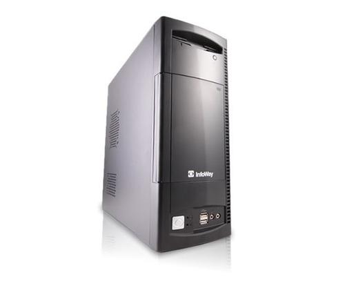 Cpu Itautec Dual Core  2gb Hd 160gb - Pronto Para Uso