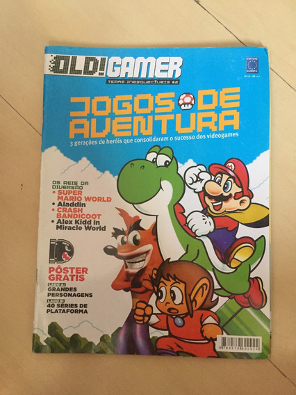 Revista Old Gamer 26 Alladin Crash Mario Crash Z013