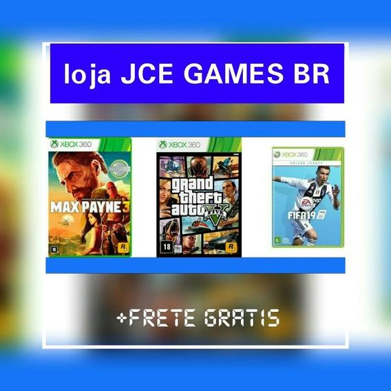 Combo 3 Jogos, (gta V +2 !!) Midia Digital Xbox 360 !!!