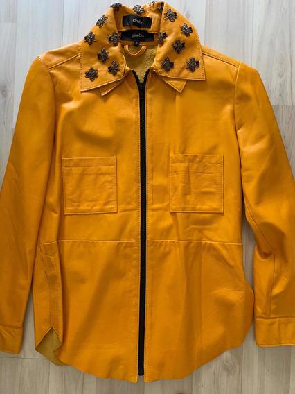 Campera/ Camisa Cuero Ginebra
